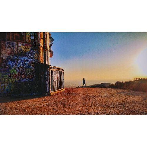 Turnbull hike Thirsty  Turnbull Motox Graffiti sunset