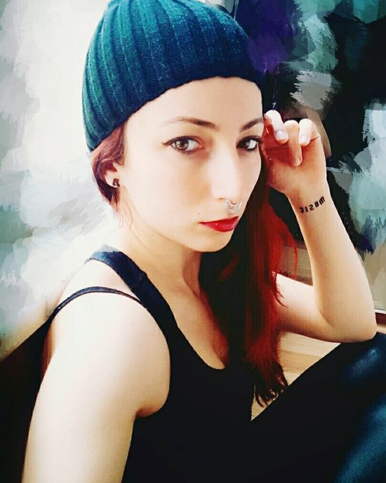 Hızma Pretty Girl Likeforlike Photography Istanbul City Fashion&love&beauty Beauty Self Portrait Selfie ✌ Pretty Beautiful Street Fashion Redhair