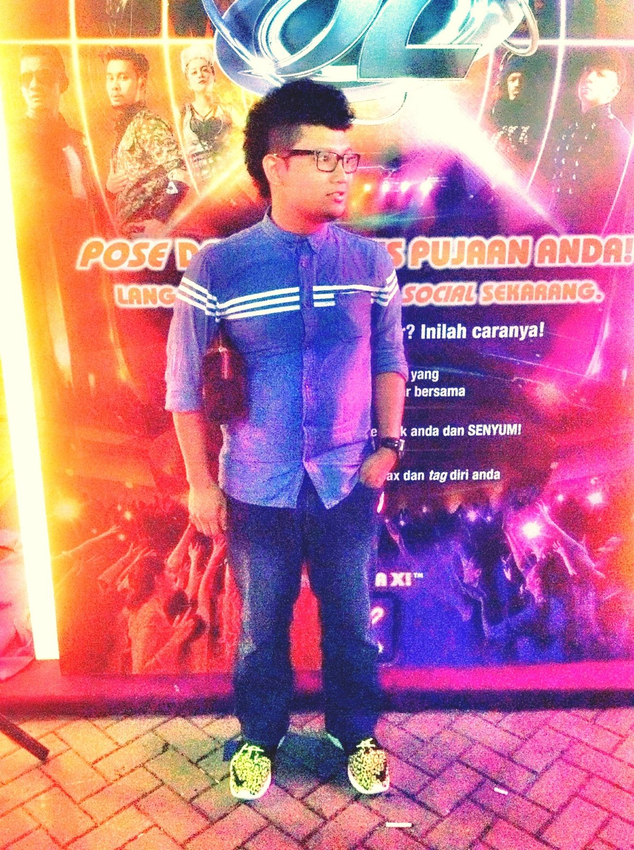 Last nite invitation :) Men Today's Hot Look Malaysia AJL28