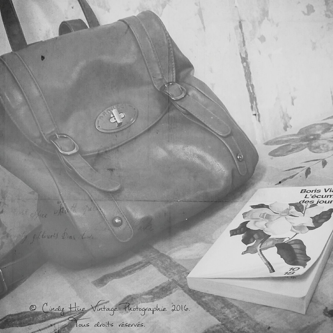 VintageNana Vintage Photograph Vintagehome Issoudun Home Photographie  Bag Books