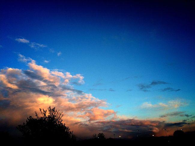 Sunset from my window, 🌞 Glorious Sunset Colourful SenseOfWonder PeachPallette Softness Sky Sunset_collection Sobeautiful♡♡♡