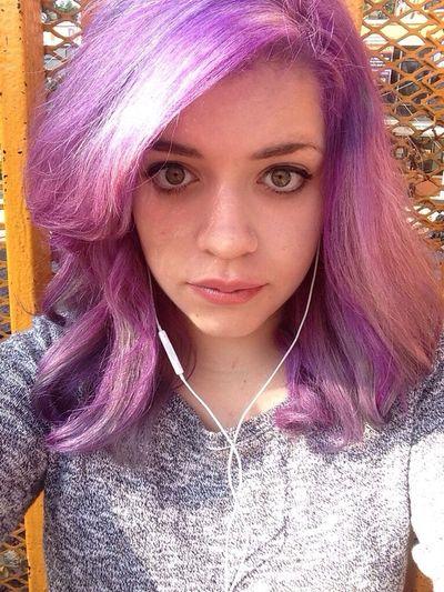?????????. Selfie Hi! Lilac Hair