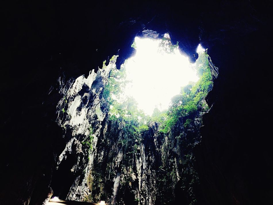 A view from inside the cave! Nature Cave Adventure Beauty In Nature First Eyeem Photo BatuCavesHinduTemple Batu Caves -Malaysia