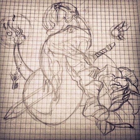 Tatuaje Zelda Tattooadict Drawing snake tattoo tattoos tattoodesing mydrawing theleyenofzelda