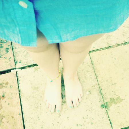 Summer ☀ Barefoot Anklet 👌🏻👌🏻👌🏻