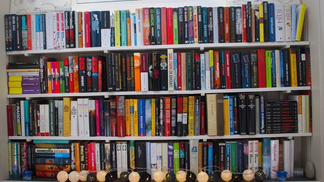Everything In Its Place Alphabetical Order Books Home Sweet Home Relaxing Jo Nesbo Plenty Of Stories To Tell Bookshelf