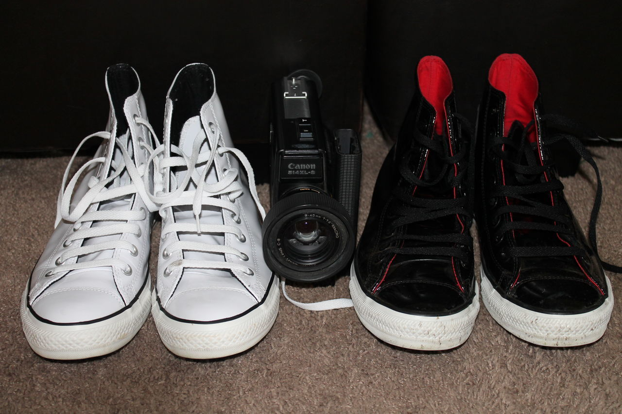 Out of the Box Black Pair, White Pair. Sneakers ♥ Take My Picture Too Out Of The Box