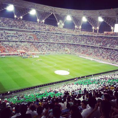 @ ملعب الجوهرة مباراة السعودية VS الاورجواي .. ?