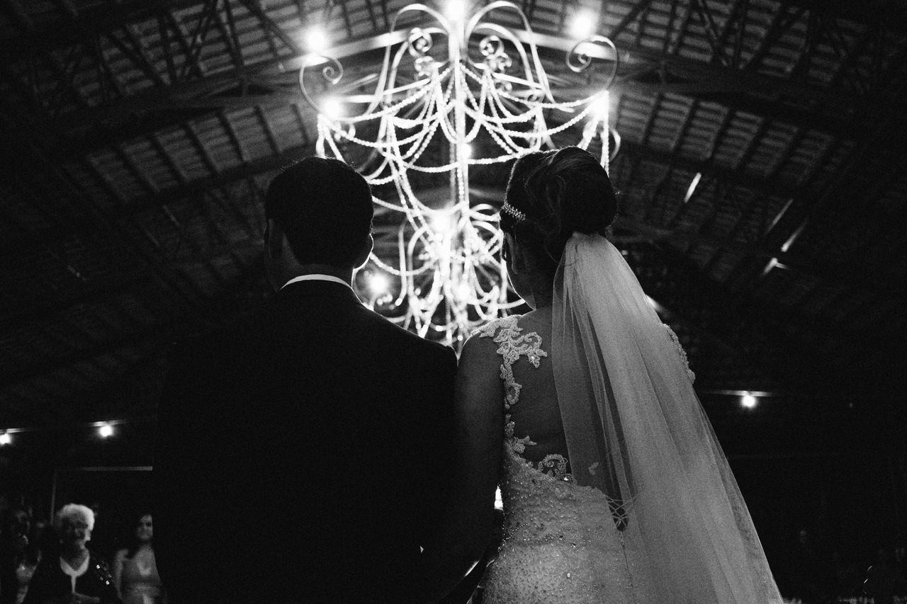 Real People Two People Celebration People Wedding Photography Wedding Love Folk Black And White Selective Focus Religion