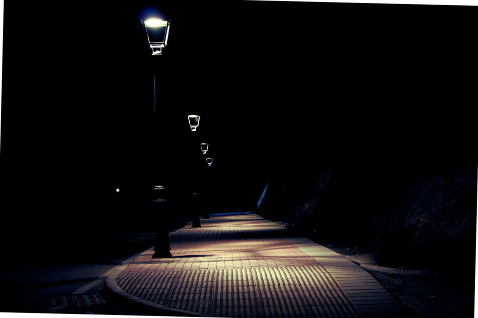 Dark Illuminated Indoors  Infinity Lamp Lonely Mistery Night No People Shadows & Lights