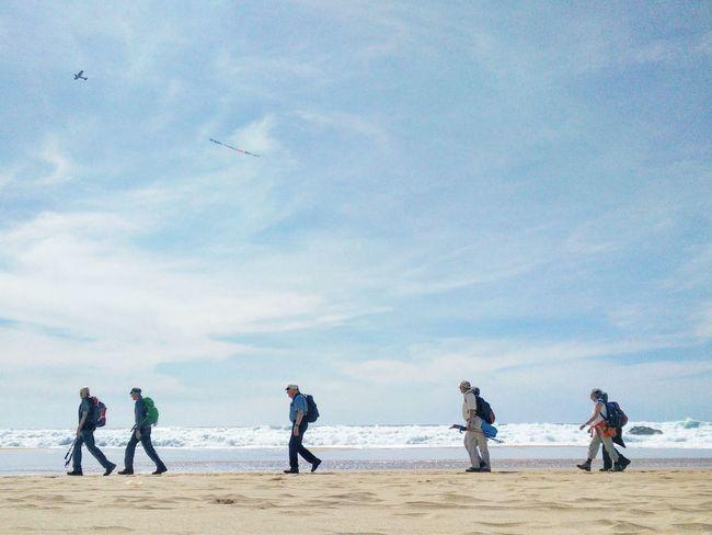 Sand Travelers Hikers