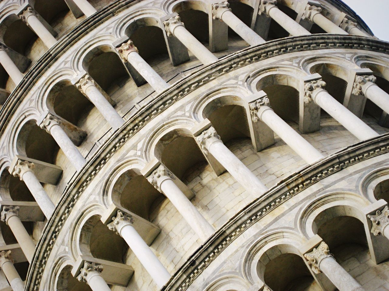 Tower of Pisa Architecture Low Angle View No People Façade Religion Outdoors Building Exterior Close-up Day Place Of Worship Pisa Pisa Tower Pisa Italy