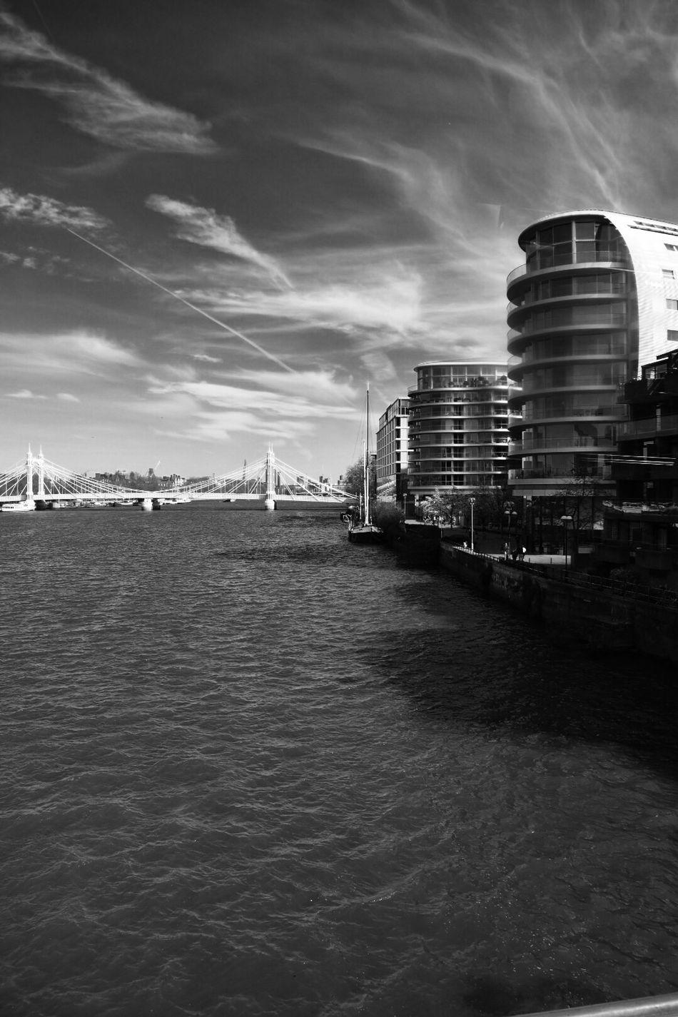 EyeEmNewHere Bridge Thames Monochrome Architecture a bridge too far