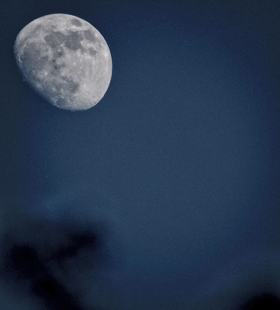 To all my friends Goodnight ??? Moon Spring Nights Black And White