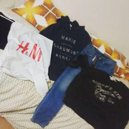 gone x'mas shopping @ H &m Xmasday