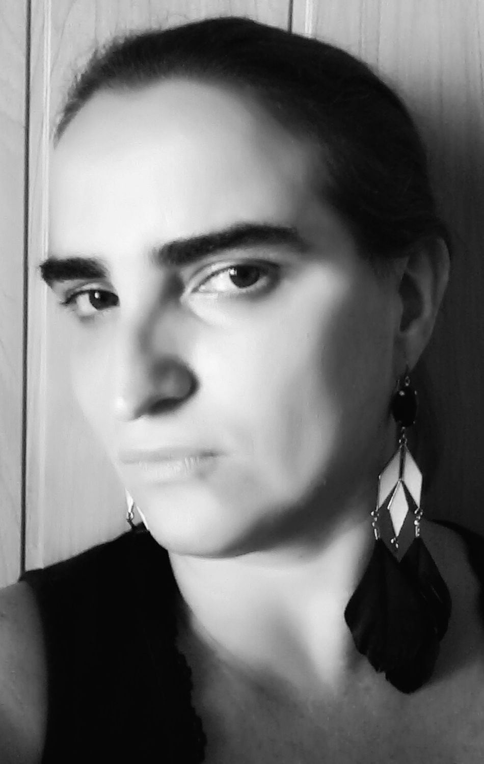 It's me😉 Beautiful B&w Photography Portrait Of A Woman Polish Girl Selfie ✌ Black And White Portrait Face