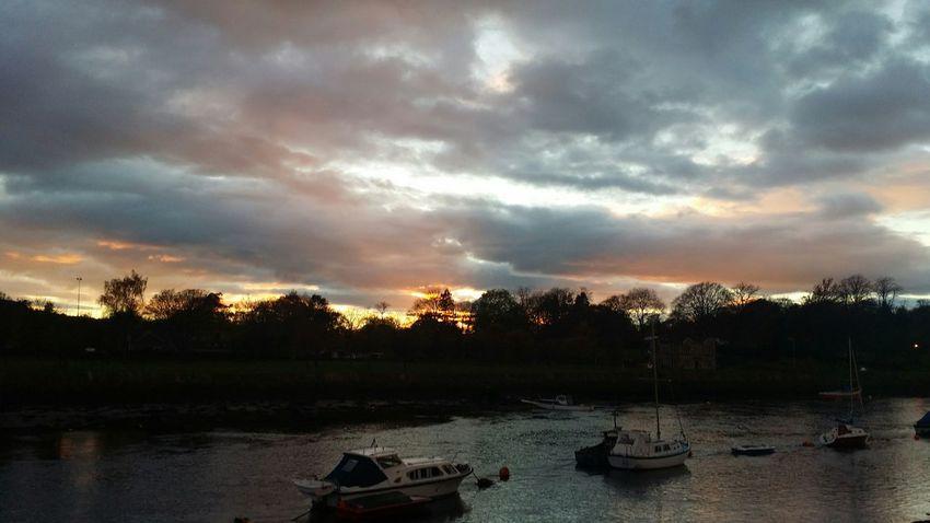 River Leven Levengrove Park Sunrise_sunsets_aroundworld Sunset Skyline Scotland