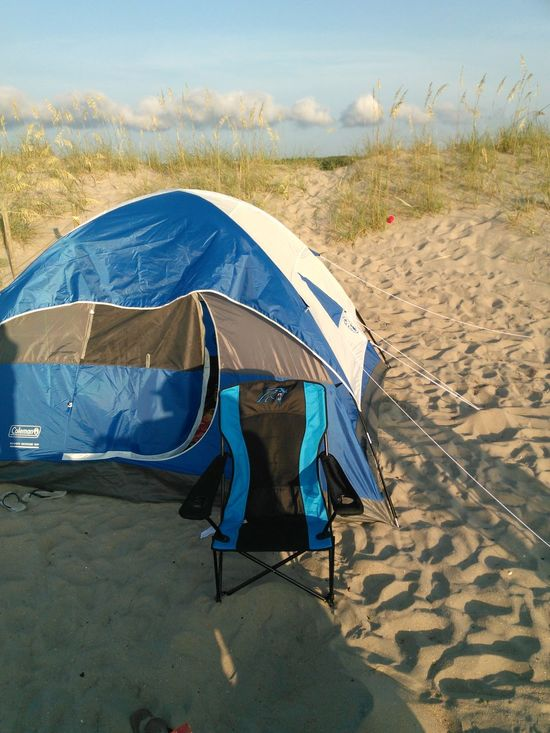 Waking up this amazing view of my tent at the beach Travel Vacations Tent Camping Trip Beautiful Wheather Sky