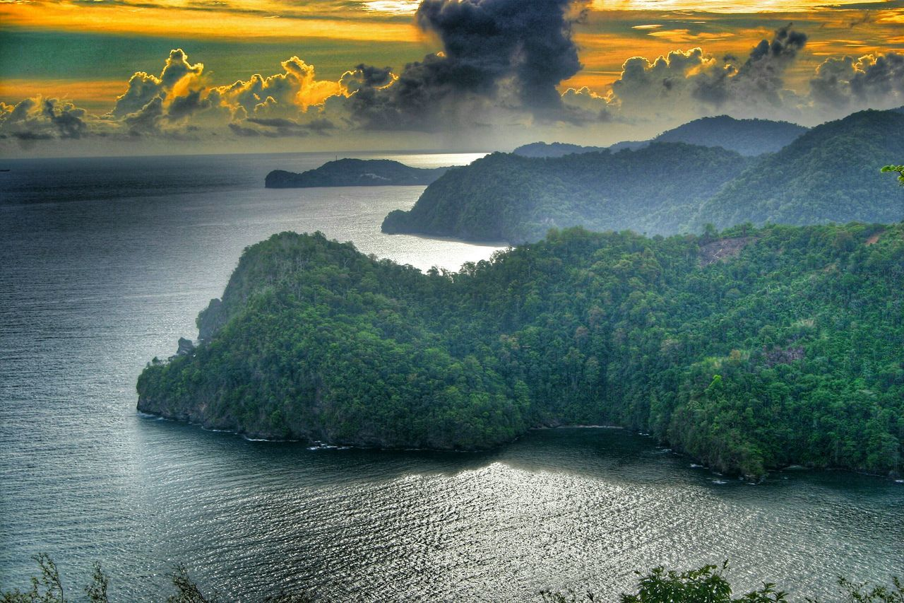 Hdrphotography Hdroftheday Hdr Photography Trinidad And Tobago Maracaslookout Maracas Sky And Clouds Sunrise And Clouds