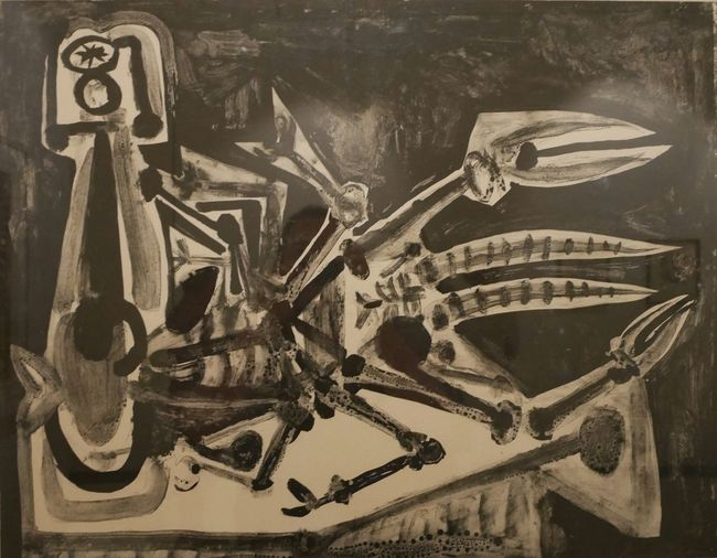 Complexity Art And Craft Painted Image Culture Art Museum Pablo Picasso Musee Soulages Rodez Museum Soulages Aveyron Rodez Artist Painting Cubism Soulages Museum Picasso Picasso Art  Paintings Creativity Art Art, Drawing, Creativity Expo Representation