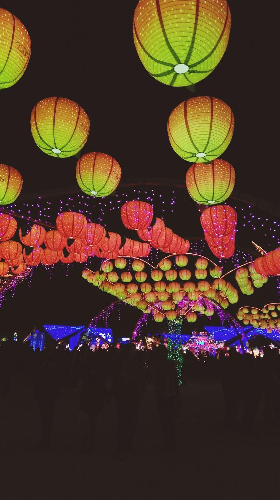 Taichung, Taiwan Lanternfestival Hanginglights Night Lights Light Up Your Life