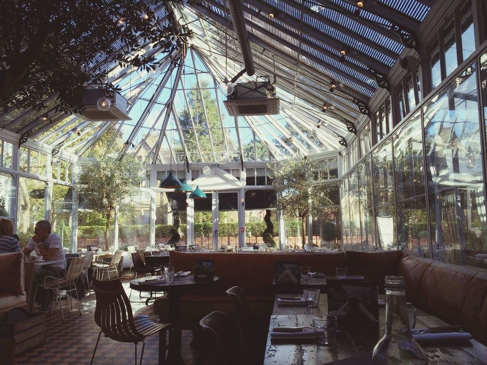 Gee's, Oxford Restaurant Conservatory Oxford England