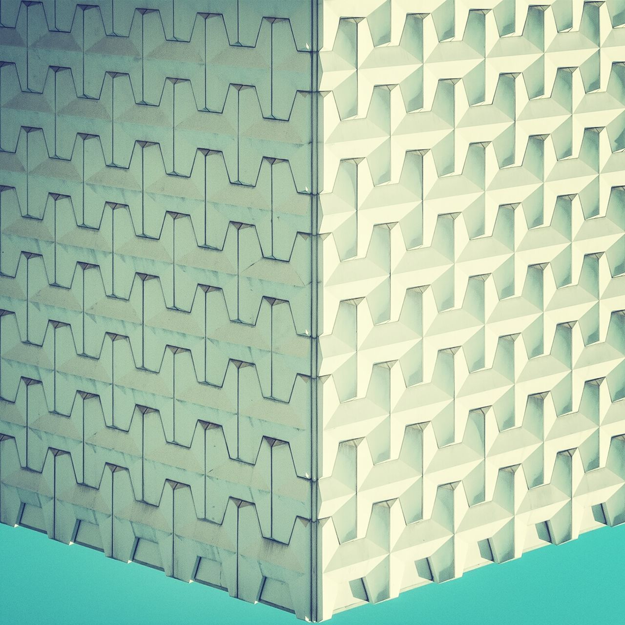 Beautiful stock photos of geometric, Architecture, Building, Building Exterior, Built Structure