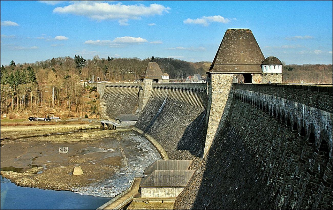 Staumauer Möhnesee / Möhne dam Sauerland Möhnesee Eye4photography  Stausee