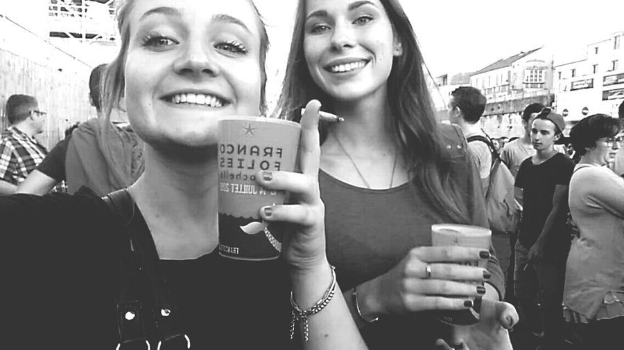 Musicfestival Summer ☀ Drinking Beer Hollydays Friend ✌ Greatmoments