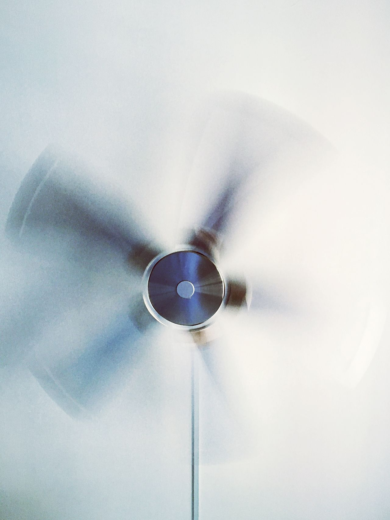 A big fan of photography Fan Windmill Blurred Motion Motion Spinning Low Angle View Ceiling Perspective Faded EyeEmNewHere