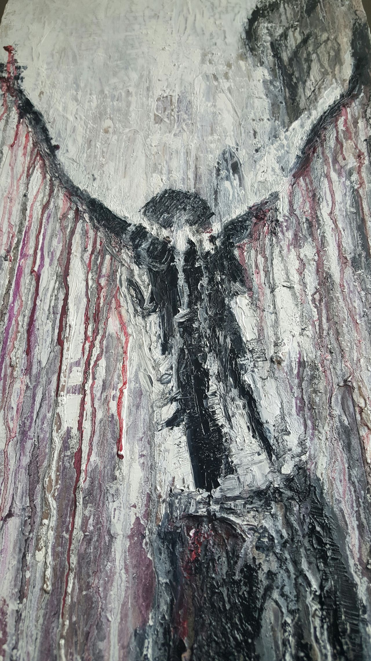 Arise... Oil on canvas..SOLD Art ArtWork Art And Craft Dark Art Dark Artist Artists Paint Oil Painting Impasto Eye4photography  Art, Drawing, Creativity Art Gallery Fine Art Modern Dark Portrait Dark And Light Painterly Painted Pictures Painting