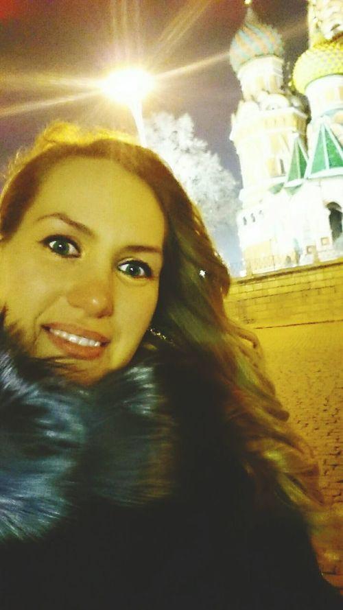 просто я улыбашки Smail :-) Moscow, Москва Night Moscow красная площадь Red Square