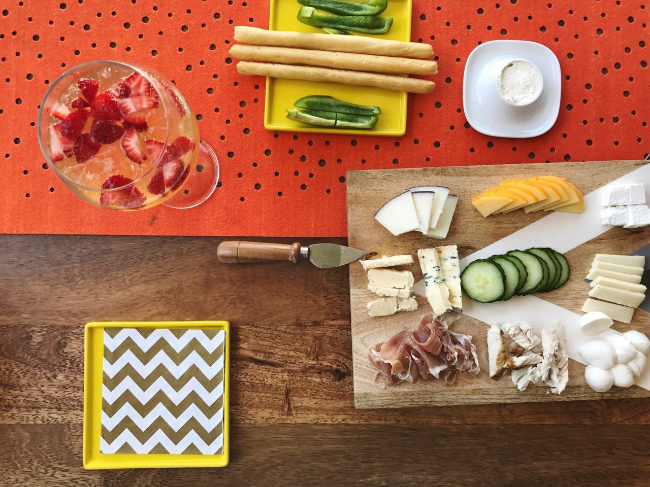 Directly Above Healthy Eating Food Vegetable SLICE Food And Drink Freshness Indoors  Cutting Board No People Cucumber Variation Table Ready-to-eat Day