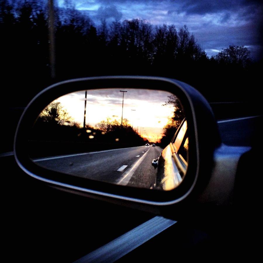 Home, Belgium MeinAutomoment Diepenbeek Belgium Cars Mirror Sunset 2worlds