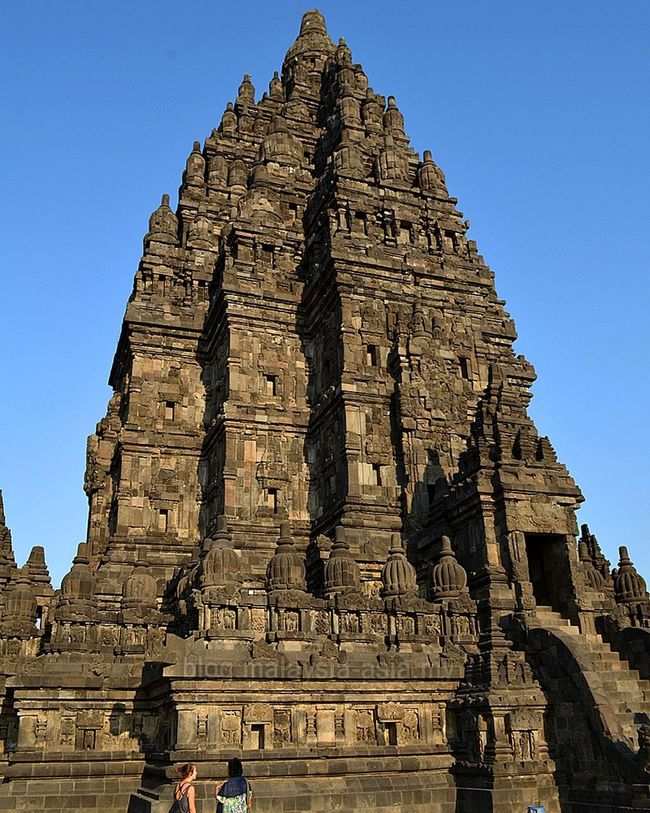 Prambanan Temple in Jogjakarta. Wonderfulindonesia Architecture History Built Structure Tourism Travel Destinations The Past Building Exterior Famous Place Travel Ancient Old Ruin Clear Sky Spirituality Blue Religion Tourist International Landmark Ancient Civilization Steps Place Of Worship Tripofwonders Stock Image Stockphoto Travel Photography