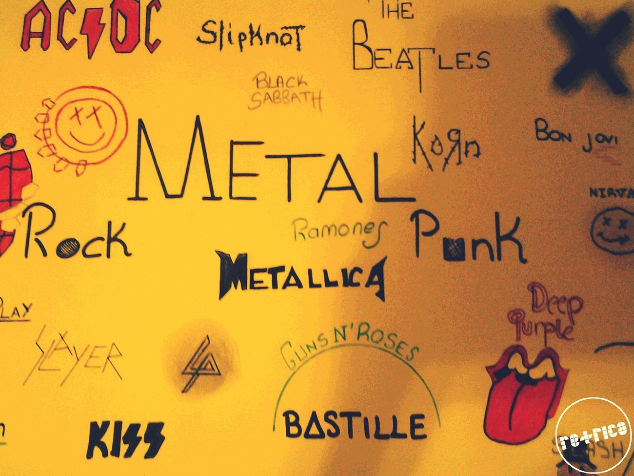 Metal Rock Punk Gunsnroses