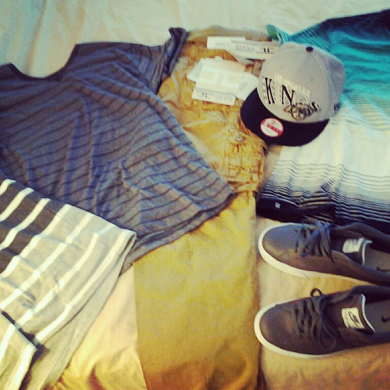 new gear i coped from the mall yesterday thoee lol