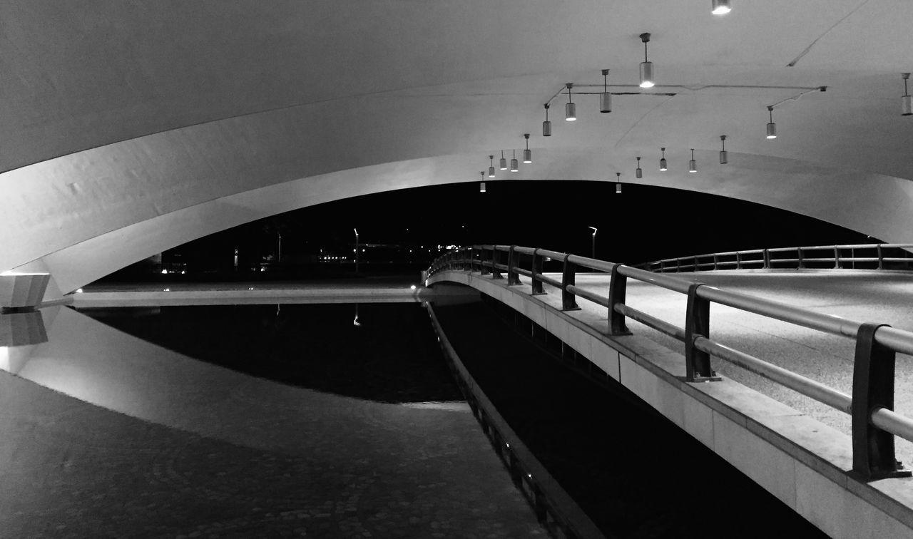 Urban Geometry Architecture Water Reflections Blackandwhite