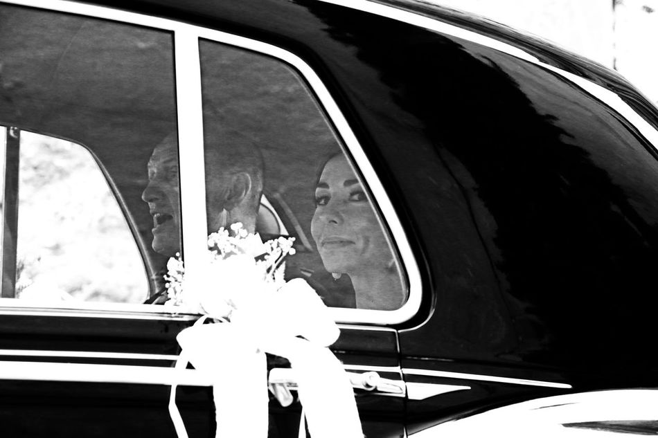 Bride Before Yes Car Canon 70d Sigma 17-70mm Black And White Streetphotography Happy People Wedding Weddings Around The World Sevilla SPAIN Wedding Moments Of Life Ritratto SebastiaoSalgado Feel The Journey Natural Light Portrait Fine Art Photography