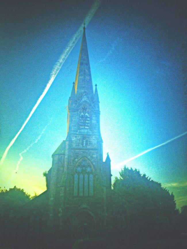 Church early morning