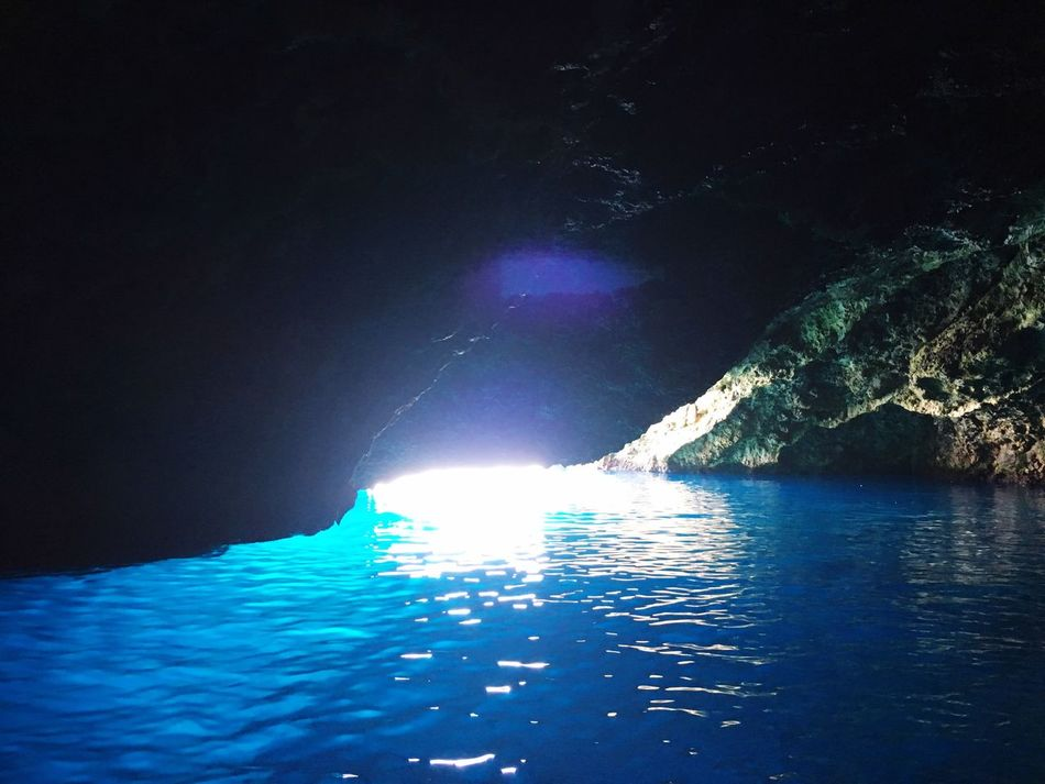 Ustica Sicily Clear Water Sea Cave Blue Water Showcase June True Blue Hidden Gems  Colour Of Life