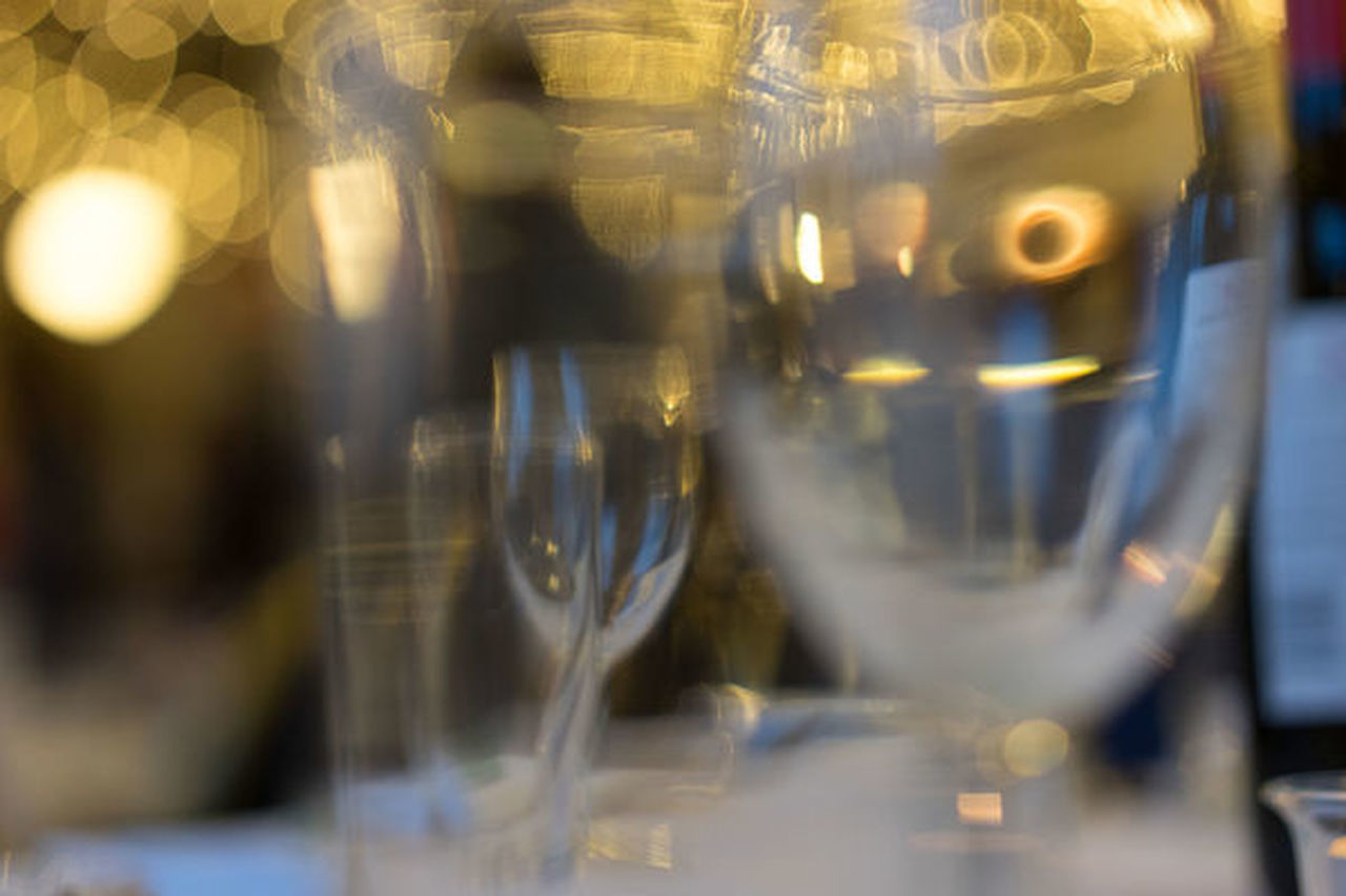 Backgrounds Close-up Day Defocused Drinking Glass Indoors  No People Wineglass