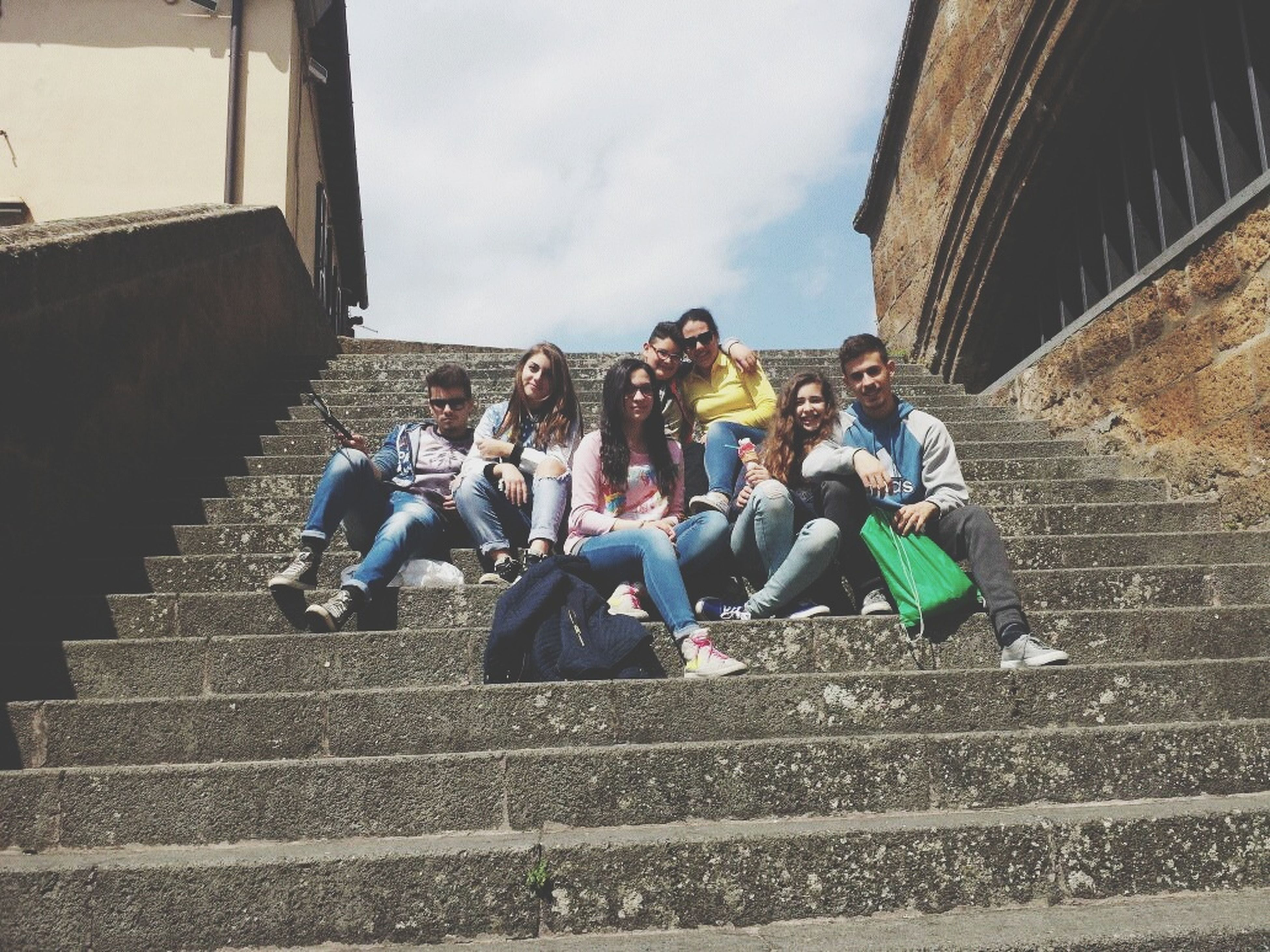 Having Fun Art Is Dead Quality Time Friends Friendsforever Assisi Fun! Ice Cream Time