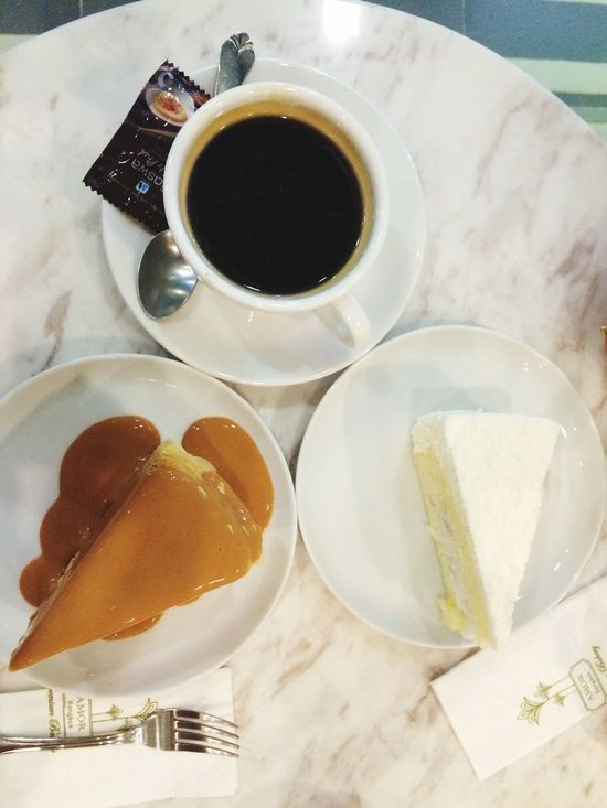 Afternoon Tea Cakes Crepe Cake Coconut Cake Black Coffee