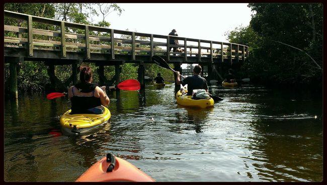 Family kayaking day in Robinson Preserve Family Matters Kayaking Enjoying Nature Robbinson Preserve