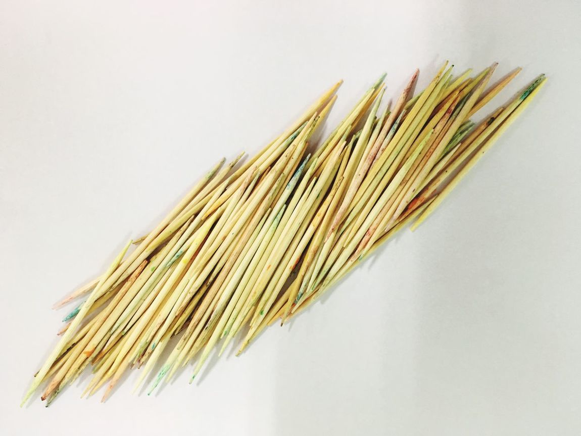Colourful Wooden Toothpicks