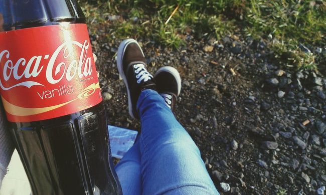 ☀☁ Chilling With My Babe ❤ Sun ☀ Coca Cola Vanilla