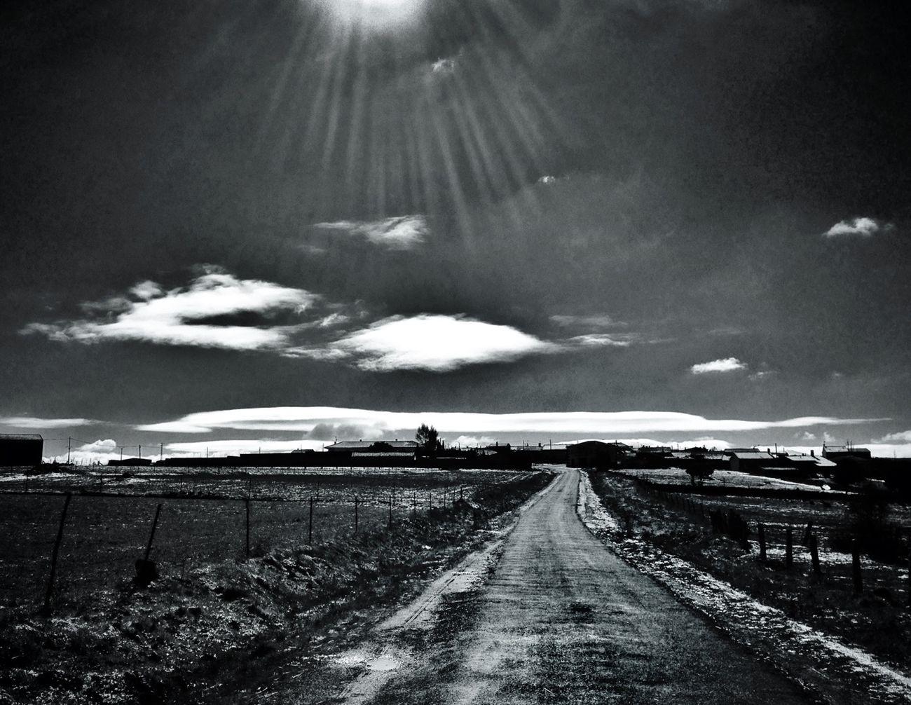 Blackandwhite Black And White Landscape Castilla Y León