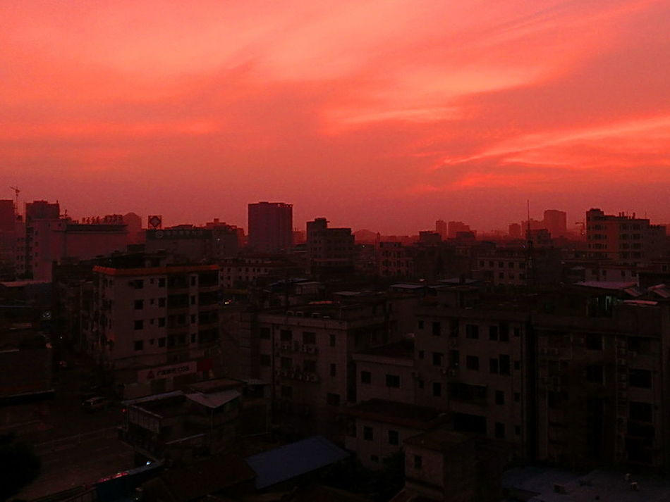 Architecture Cityscape Cloud Cloud - Sky Day Break Orange Color Residential Building Residential District Sunrise The Architect - 2016 EyeEm Awards The Essense Of Summer The Great Outdoors - 2016 EyeEm Awards The Photojournalist - 2016 EyeEm Awards The Street Photographer - 2016 EyeEm Awards