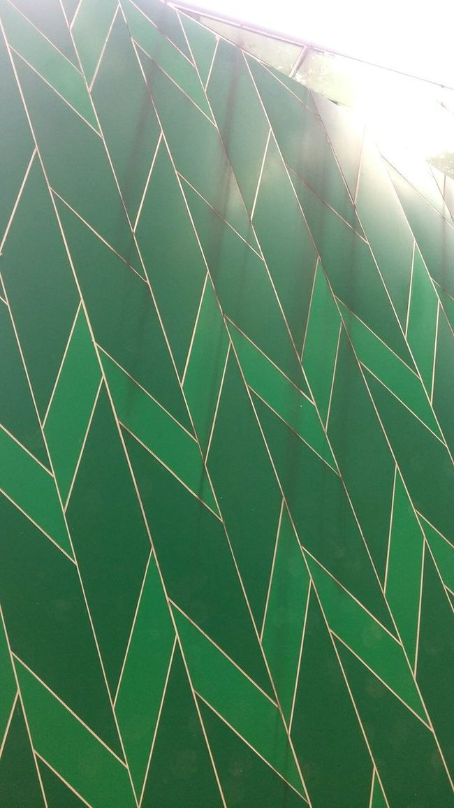 Pattern Pieces Pattern Design Wall Building Exterior Patterns Green